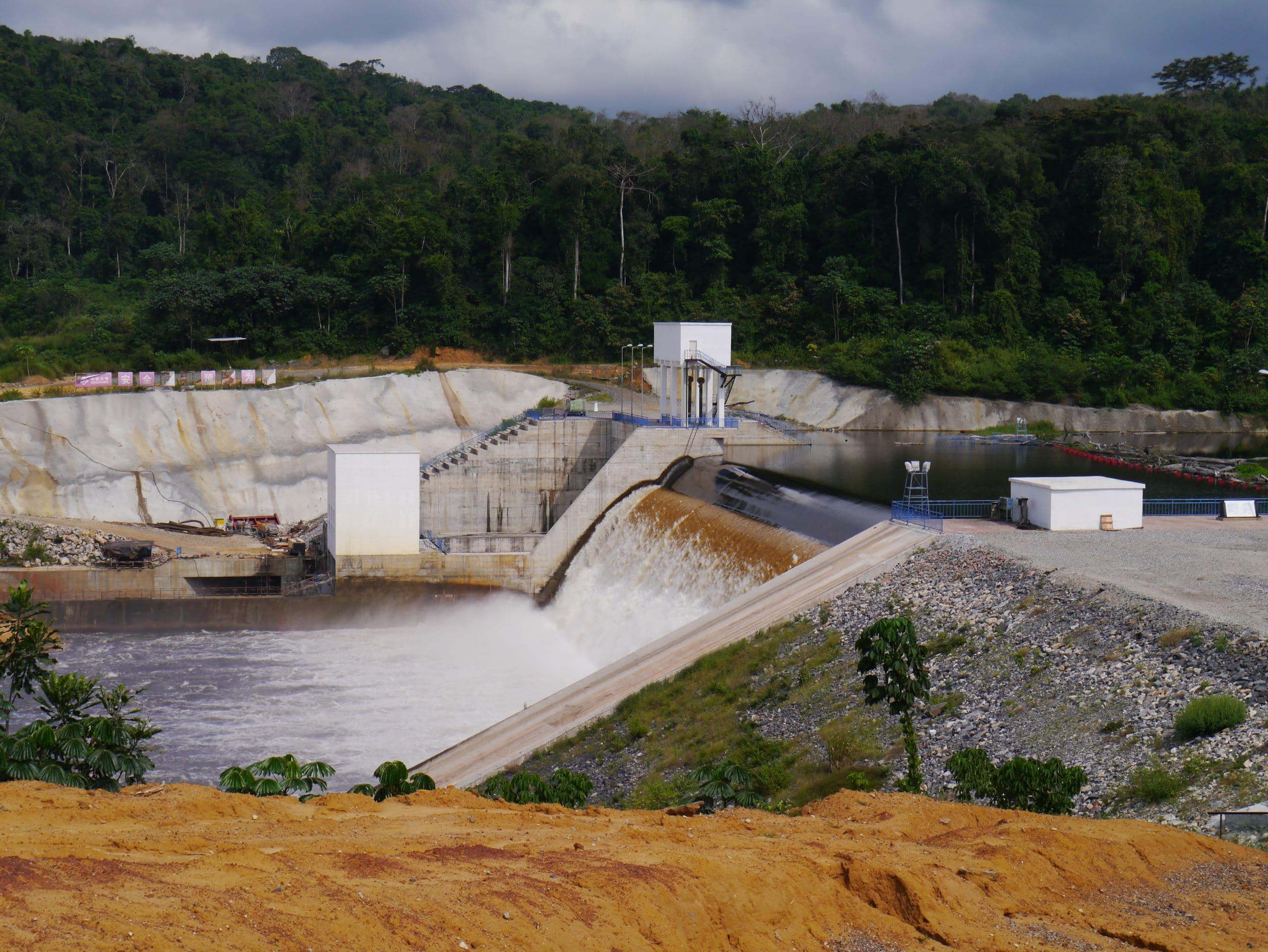 Grand Poubara-1 dam